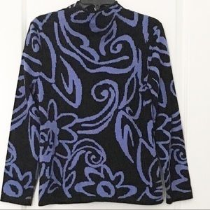 Chico's Sweaters - Chico's Size 1 Zip Front Silk Blend Cardigan
